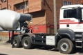 camion man multicambio hormigonera